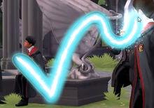 "Флиппендо в ""Hogwarts Mystery"""