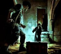 Tom Riddle accused Rubeus Hagrid (Concept Artwork for HP2 movie 01)