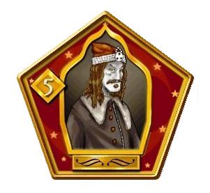 Vlad Drakul Famous Wizard Card