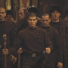 Студенты Дурмстранга прибывают в Хогвартс