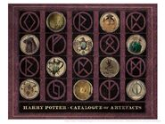 Harry Potter Wizard's Collection - katalog artefaktów