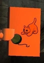 Книга с котёнком