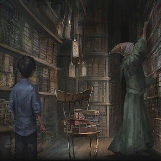 Лавка Олливандера на Pottermore