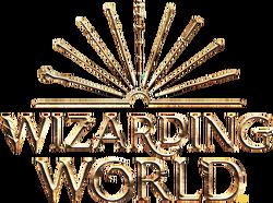 Wizarding World logo - tablet