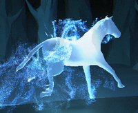 Chestnut Stallion patronus