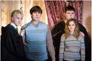 Draco,Nilus,Hermine og Krabbe