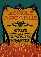 Le Cirque Arcanus Banner Poster