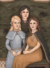 Narcissa, Andromeda, and Bellatrix