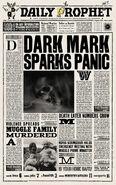 MinaLima Store - The Daily Prophet - Dark Mark Sparks Panic
