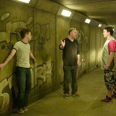 Дэвид снимает пятый фильм Поттерианы