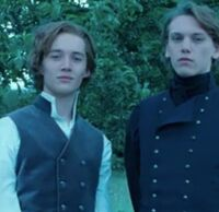 Teenage Dumbledore and Grindelwald