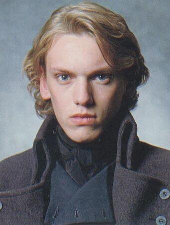 Portrét mladého Gellerta Grindelwalda.