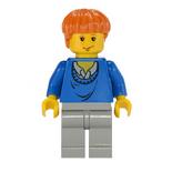 LegoRon NiebieskiSweter