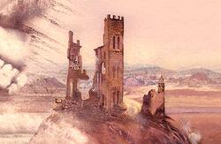 Poudlard en ruines