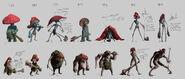 Czerwony Kapturek - grafika koncepcyjna