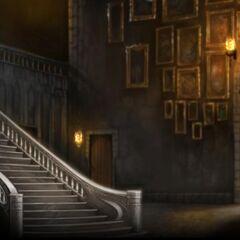 Парадная лестница, изображение с Pottermore