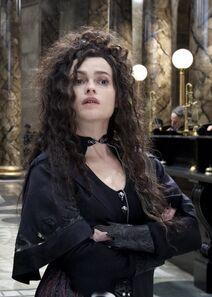 Bellatrix in Gringotts