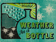 MinaLima Store - Weather In A Bottle - Poster