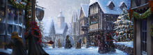 PM-Moment B3C10 SnowyHogsmeadeWithRonHermioneAndInvisibleHarry
