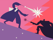 Dumbledore Grindelwald Duel