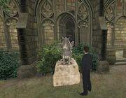 Gargoyle statue 1995