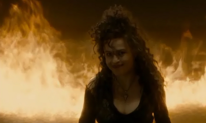 Bellatrix in fire