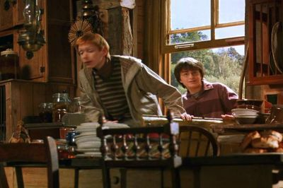 File:Fred Weasley and Harry Potter inside the Burrow.jpg