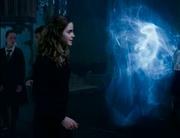 Hermione e il suo Patronus