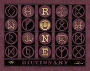 MinaLima Store - Rune Dictionary