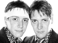 Fred and George Weasley Deathly Hallows promotional image
