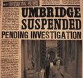 Umbridge suspended.jpg