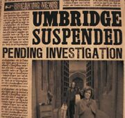 Umbridge suspended