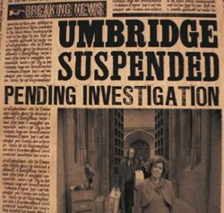Umbridge suspended