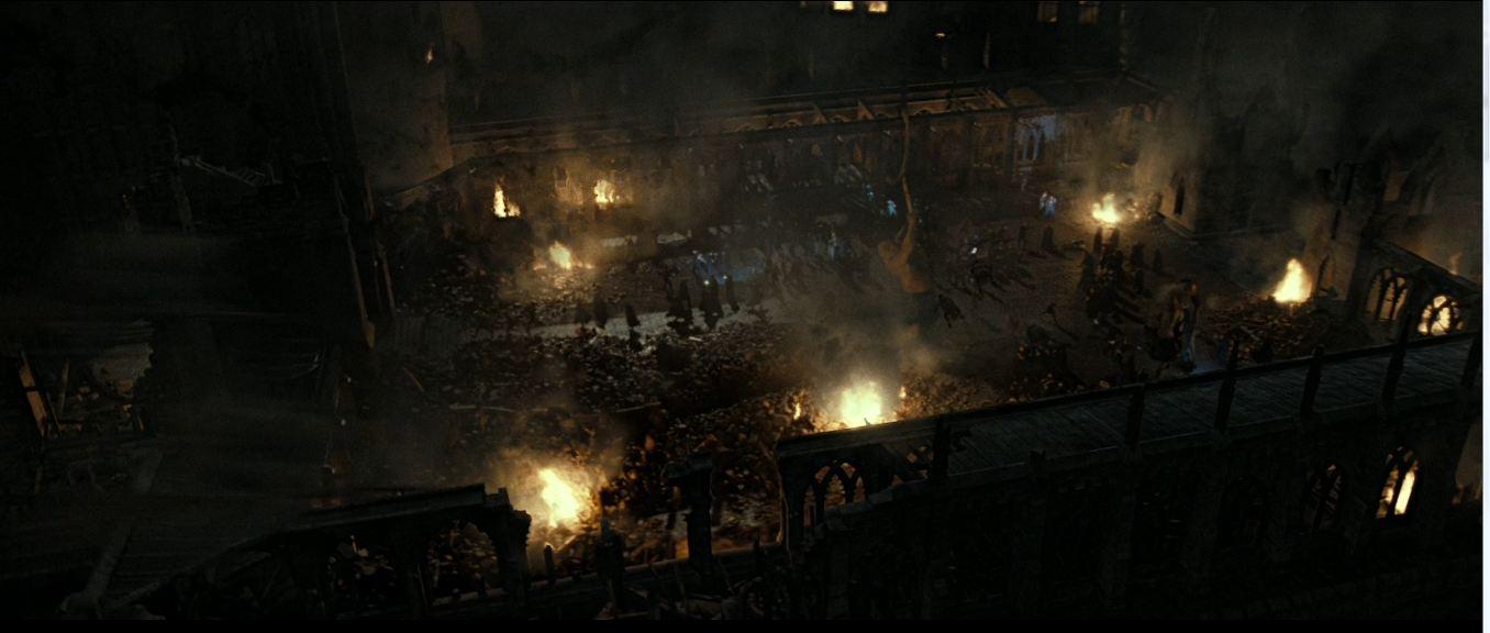 Courtyard Apocalypse   Harry Potter Wiki   Fandom