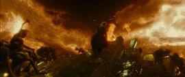 Dumbledore płomienie