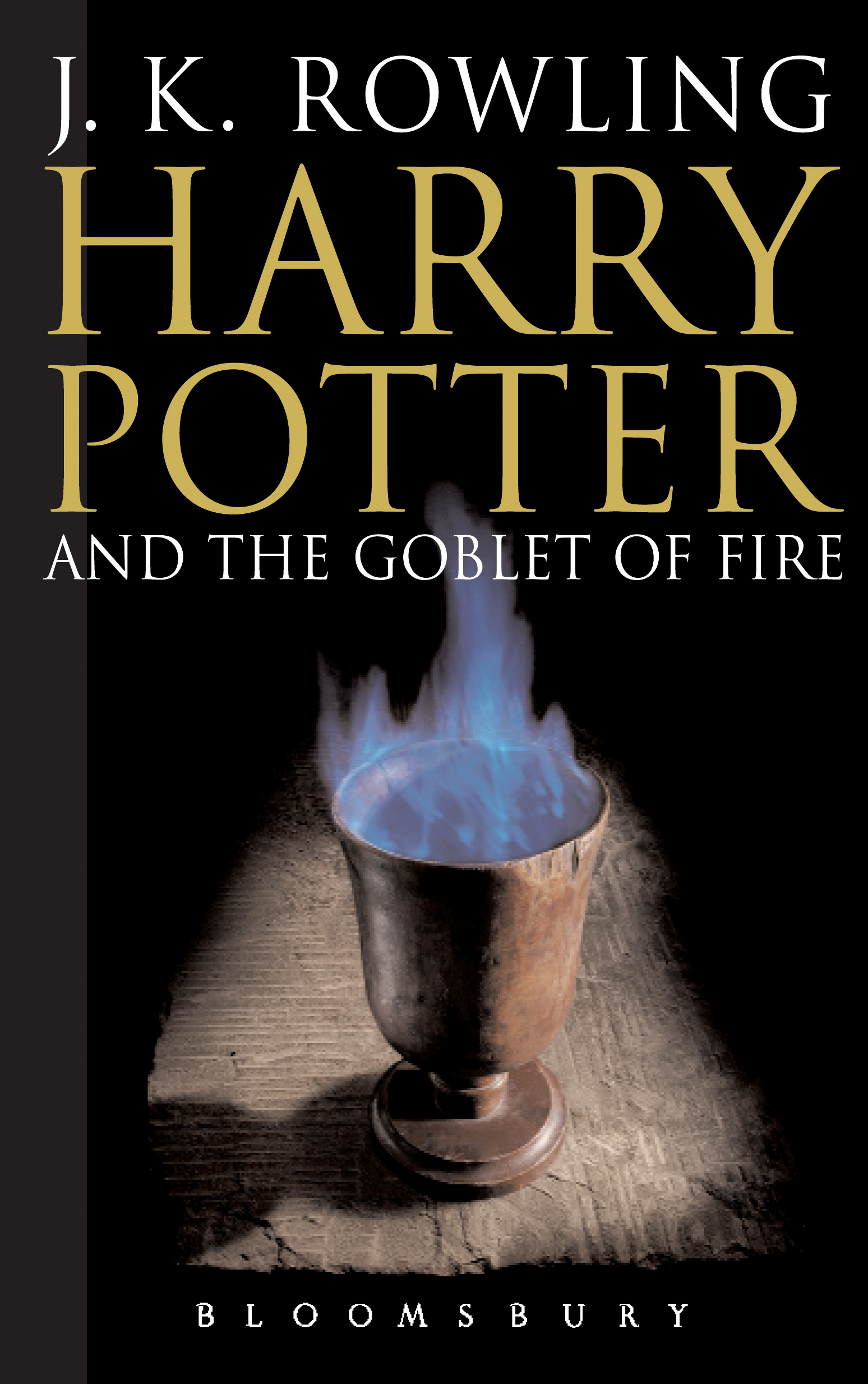 Harry Potter Book Cover Uk ~ Image hp the goblet of fire adult edition g harry potter