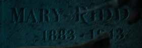 Mary Riddle grave
