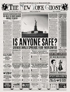 MinaLima Store - The New York Ghost – Is Anyone Safe
