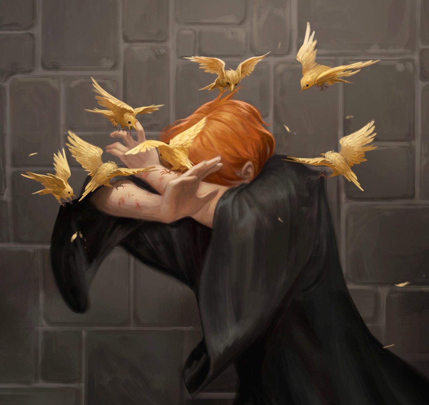 Bird-Conjuring Charm   Harry Potter Wiki   FANDOM powered by