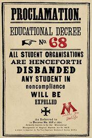 Educational Decree Number 68 (24)