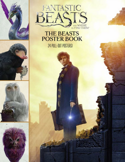 Fantastic Beasts and Where to Find Them The Beasts Poster Book Обложка Постер-бук