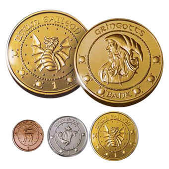 Wizarding Currency Harry Potter Wiki