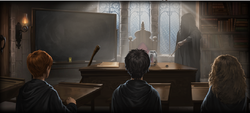 Defence Against the Dark Arts lesson