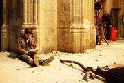 Harry-Potter-Reading-Harry-Potter-On-The-Set-Of-Harry-Potter