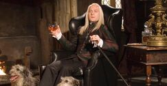 Lucius at Malfoy Manor