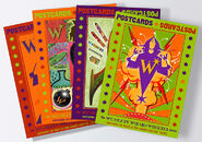MinaLima Store - The Weasleys' Series Postcards - Complete Collection