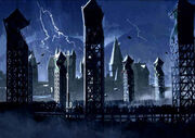 Bad Weather during Quidditch Match (Concept Artwork for the HP3 movie 03)