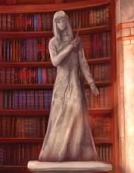 Statue of Rowena Ravenclaw