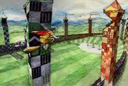 Quidditch Gryffindor vs. Slytherin (Concept Artwork)