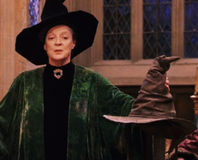 McGonagall and the Sorting Hat-SS